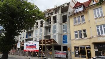 zdjęcie z budowy Budynek Bałtyk