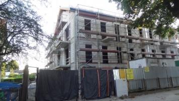 zdjęcie z budowy Rycerska 13