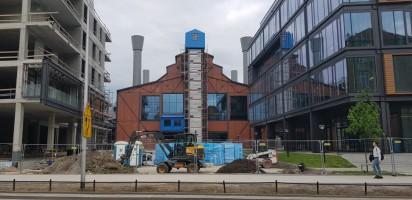 zdjęcie z budowy Elektrownia Powiśle