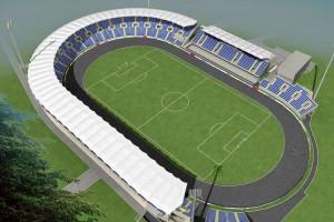 wizualizacje Stadion MOSiR Bystrzyca