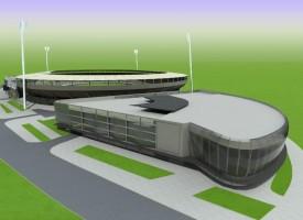wizualizacje Stadion Motoru Lublin