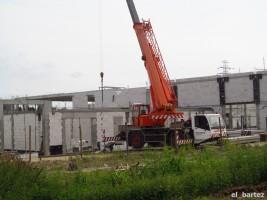 zdjęcie z budowy Audi Krotoski-Cichy