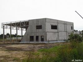 zdjęcie z budowy Salon samochodowy z halą warsztatową