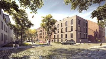 zdjęcie z przebudowy Hotel Arche Hotel Dwór Uphagena