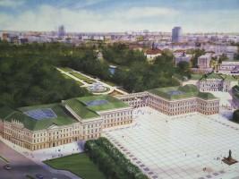 zdjęcie archiwalne Pałac Saski