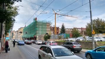 zdjęcie z przebudowy Fabryka II