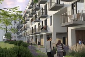 wizualizacje Apartamenty Nowy Tarchomin
