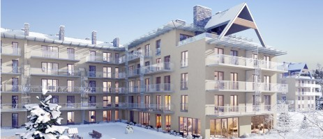 zdjęcie z budowy Apartamenty Zakopiańskie