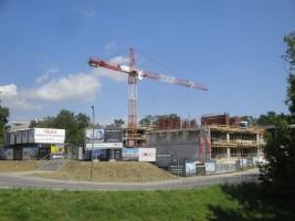 zdjęcie z budowy Metro Park