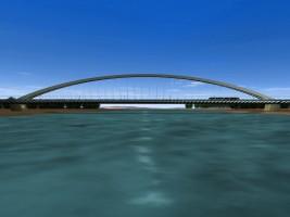 wizualizacje Most Krasińskiego