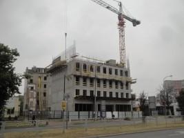zdjęcie z budowy Targowa 5