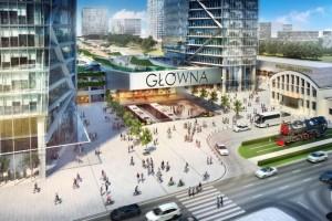 wizualizacje Warszawa Główna