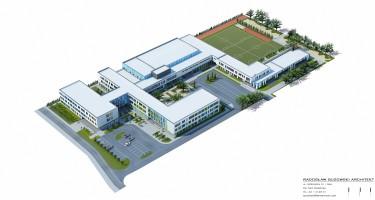 zdjęcie z budowy Szkoła podstawowa nr 10