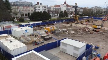 zdjęcie z budowy Kompleks hotelowy