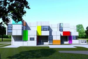 zdjęcie z budowy Samorządowe Przedszkole nr 38