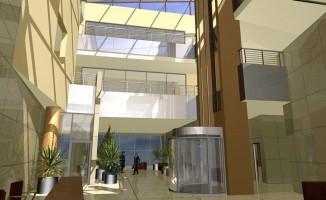wizualizacje Chopin Business Center