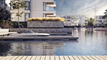 zdjęcie z budowy Sol Marina