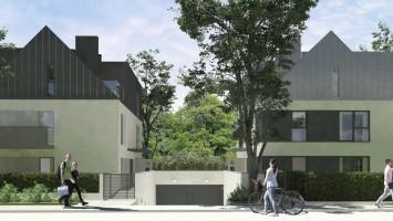 zdjęcie z budowy Mirror House