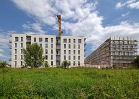 zdjęcie z budowy Planty Racławickie