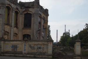 zdjęcie z przebudowy Ogrody Geyera