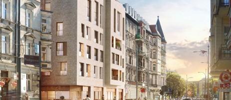 wizualizacje Apartamentowiec Za Bramką