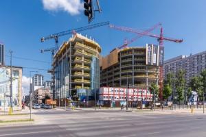 zdjęcie z budowy Kompleks Mennicy Polskiej