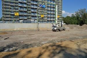 zdjęcie z budowy Marina Park