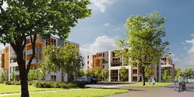 zdjęcie z budowy Apartamenty Poligonowa