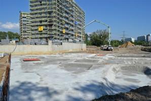 zdjęcie z budowy Port Popowice