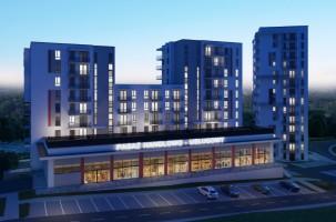 zdjęcie z budowy Osiedle Przyszłość