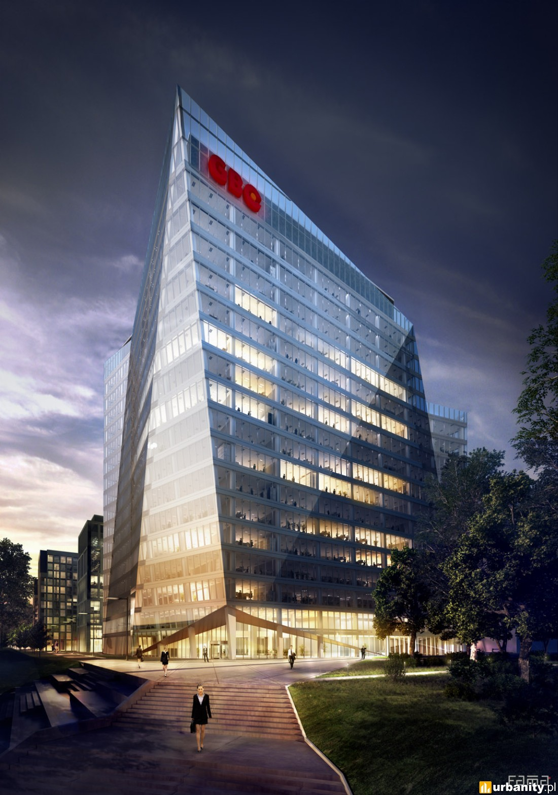 Wizualizacje Gdański Business Center