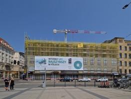 zdjęcie z przebudowy Grand Hotel