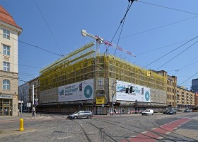 zdjęcie z przebudowy Nord Hotel