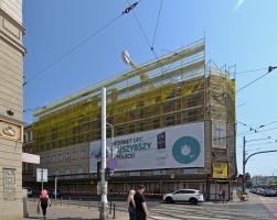 zdjęcie z przebudowy Hotel du Nord
