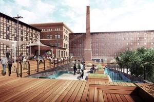 zdjęcie z przebudowy Młyny Rothera