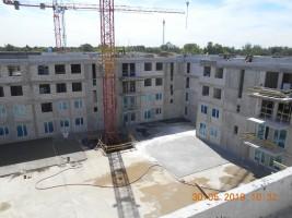 zdjęcie z budowy Osiedle Enclave