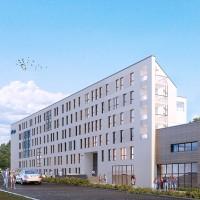 zdjęcie z budowy Akademik Collegia