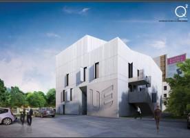 zdjęcie z przebudowy Uniwersytecki Inkubator Przedsiębiorczości