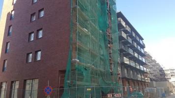 zdjęcie z budowy Bastion Wałowa