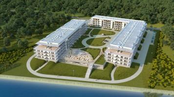 zdjęcie z budowy Porta Mare  Marina