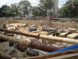 zdjęcie z budowy Wronia