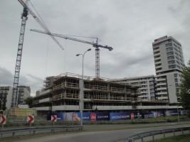 zdjęcie z budowy Osiedle przy Arkadii