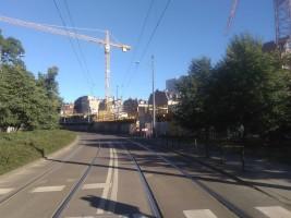 zdjęcie z budowy Mostowa 23
