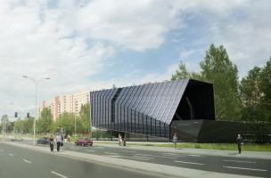wizualizacje Budynek handlowo-usługowo-biurowy