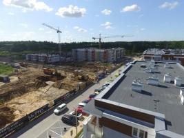 zdjęcie z budowy Nowa Wygoda