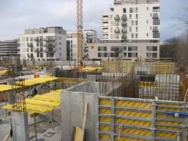 zdjęcie z budowy Nowy Mokotów