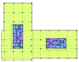 Typowe piętro w budynku