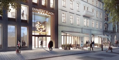 wizualizacje Hotel Diament Plaza Katowice