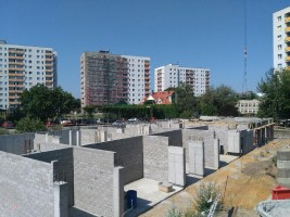 zdjęcie z budowy Lisia Apartamenty