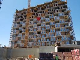 zdjęcie z budowy Bulwary Park